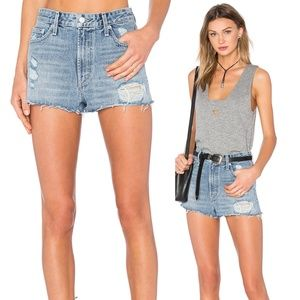 NWT Tularosa Emma High-Rise Denim Shorts